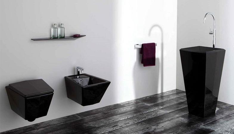 arredo bagno | sanitari | crystal | segala ceramiche - Arredo Bagno Nero