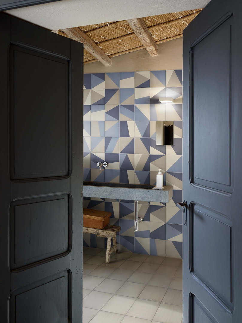 Rivestimenti cucine tangram segala ceramiche - Piastrelle bardelli bagno ...