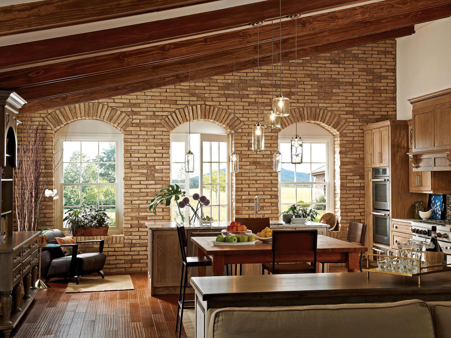 Rivestimenti pietra ricostruita terrakotta padano segala ceramiche - Mattoni faccia vista per interni ...