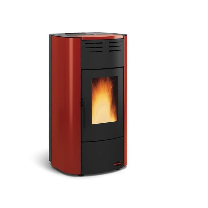 Stufe termostufe raffaella idro segala ceramiche - Stufe a pellet idro nordica extraflame ...